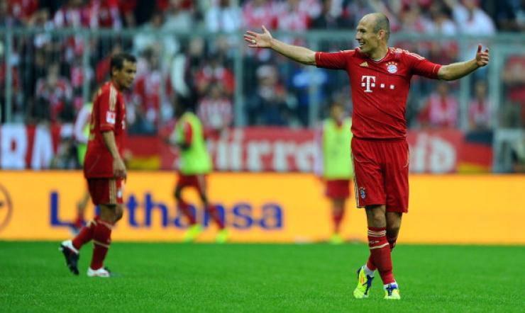 Arjen Robben - Getty Images
