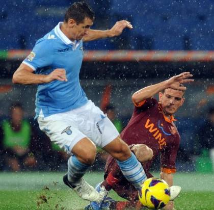 Roma-Lazio - Getty Images