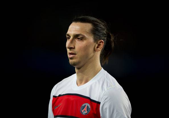 Zlatan Ibrahimovic' (getty images)