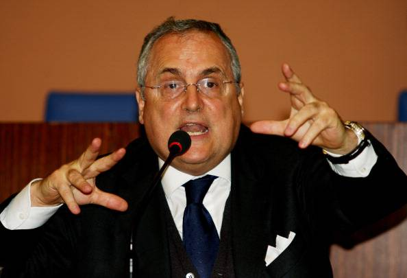 Claudio Lotito (getty images)