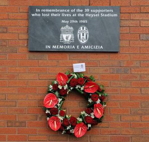 Commemorazione per la strage dell'Heysel (getty images)