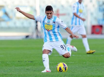 Quintero, centrocampista del Pescara