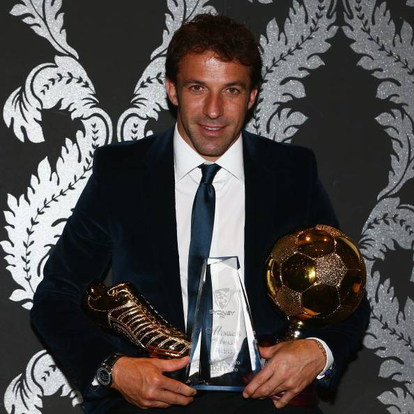 Alex Del Piero vincitore del Golden Boot Award - Getty Images