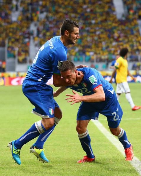 Candreva e Giaccherini - Getty Images