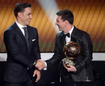 Cannavaro e Messi - Getty Images