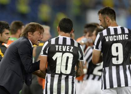 Tevez-Vucinic (getty images)