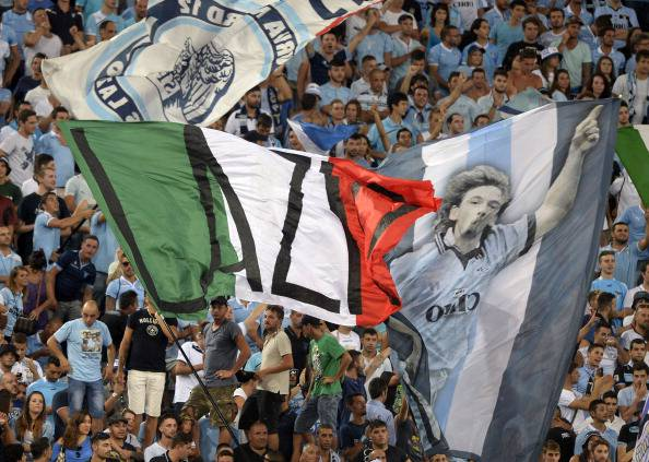 Curva Nord Lazio (getty images)