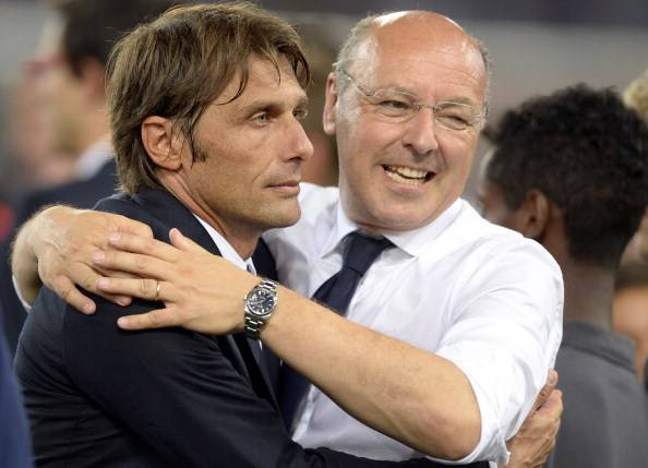 Conte e Marotta (getty images)