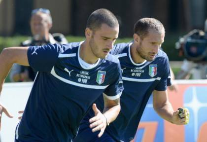 Bonucci e Chiellini - Getty Images