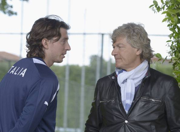 Giancarlo Antognoni, qui con Montolivo (getty images)