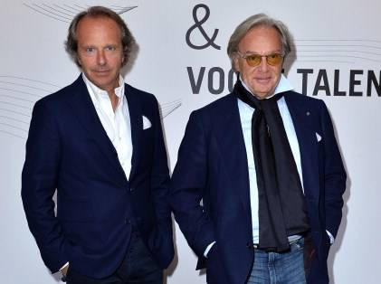 Diego e Andrea Della Valle (getty images)