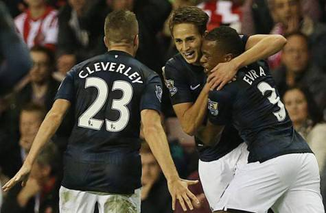 Januzaj esulta dopo un gol - Getty Images