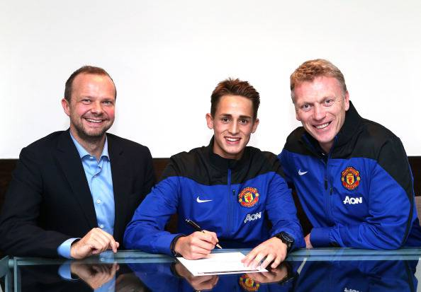 Januzaj rinnova con il Manchester United (getty images)