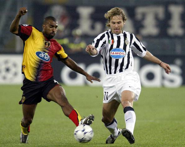 Juventus-Galatasaray del 2003 (getty images)