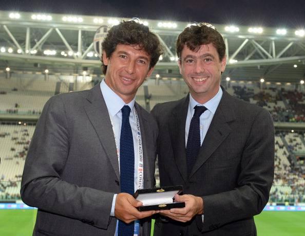 Demetrio Albertini, qui con Andrea Agnelli (getty images)