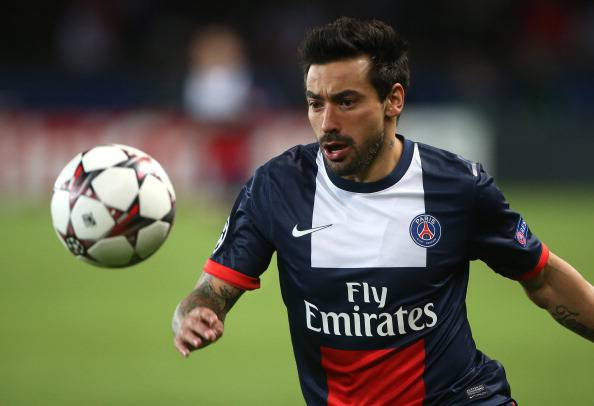 Ezequiel Lavezzi (getty images)