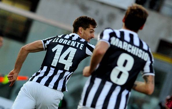 Fernando Llorente dopo il gol - Getty Images
