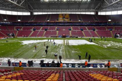 Galatasaray vs Juventus match will resume at 13:00 GMT