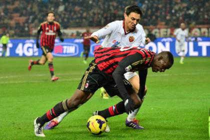 Balotelli in azione - Getty Images
