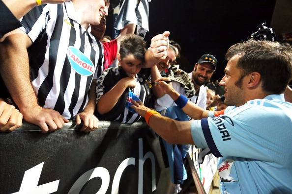 Del Piero acclamato dai suoi fans - Getty Images