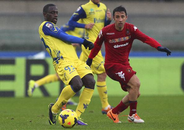Chievo-Cagliari (getty images)