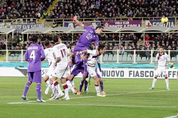 Il gol di Gonzalo Rodriguez (getty images)