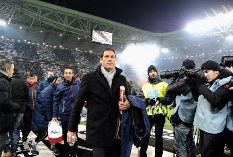 Rudi Garcia allo Juventus Stadium (getty images)