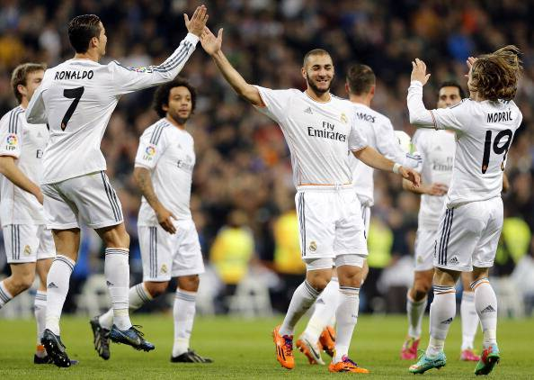 Real Madrid (getty images)