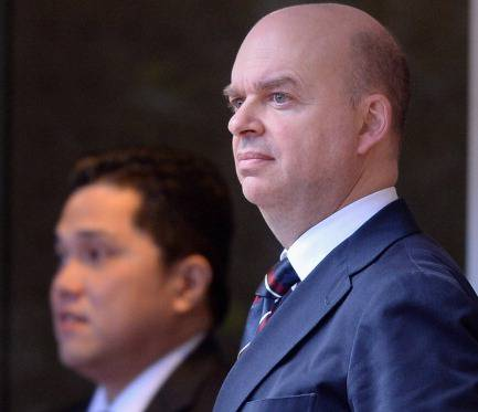 Marco Fassone e Erick Thohir (getty images)