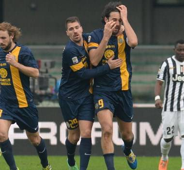 L'esultanza di Luca Toni (getty images)