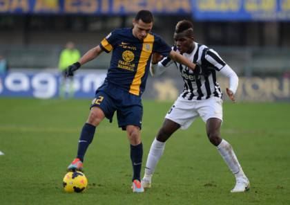 Romulo contro Pogba (getty images)