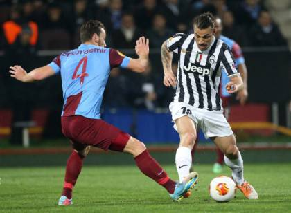 Trabzonspor-Juventus (getty images)