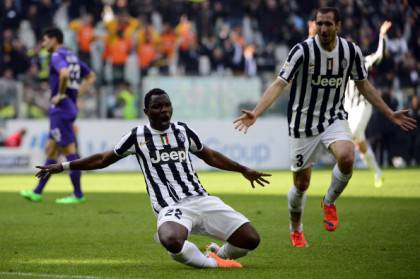 Kwadwo Asamoah esulta (getty images)