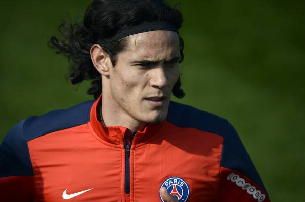 Edinson Cavani (getty images)
