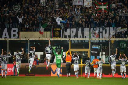 Gioia Juventus a Catania (getty images)