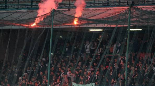 Tifosi bianconeri al San Paolo (getty images)