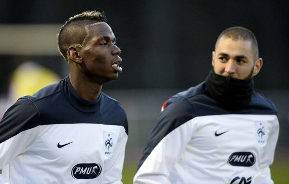 Pogba e Benzema (getty images)