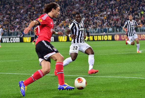 Markovic fronteggiato da Asamoah - Getty Images