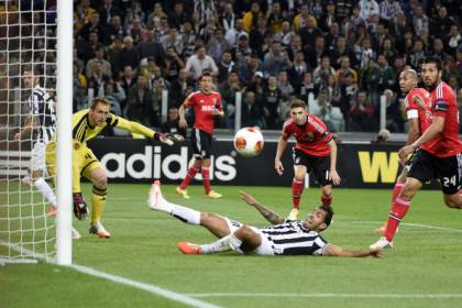 Juventus-Benfica (getty images)