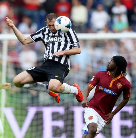 Chiellini in Roma-Juventus (getty images)