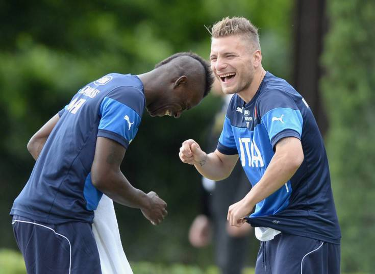 Immobile e Balotelli - Getty Images
