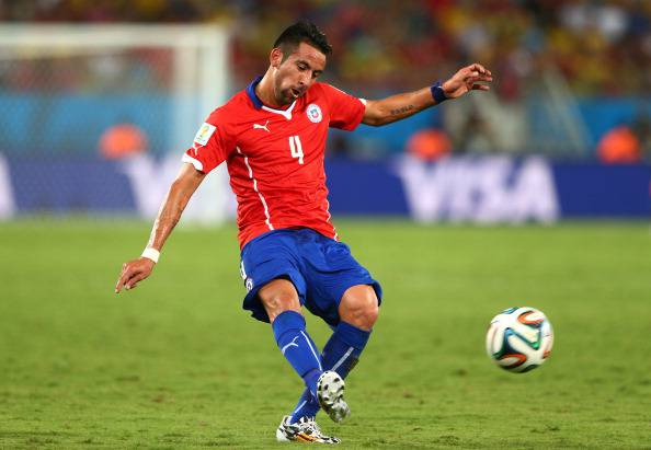 Mauricio Isla (getty images)