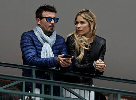 Eleonora Pedron e Max Biaggi (getty images)
