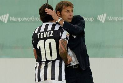 Conte-Tevez (getty images)