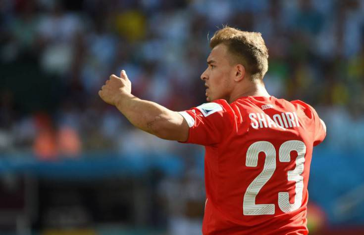 Shaqiri - Getty Images