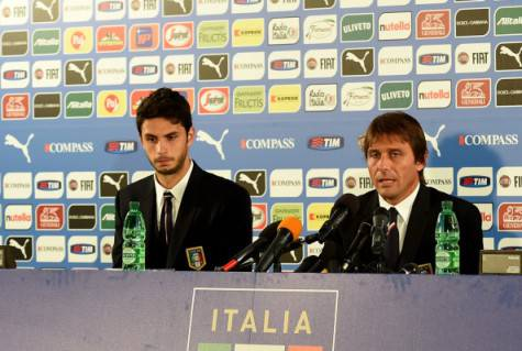 Ranocchia e Conte (getty images)