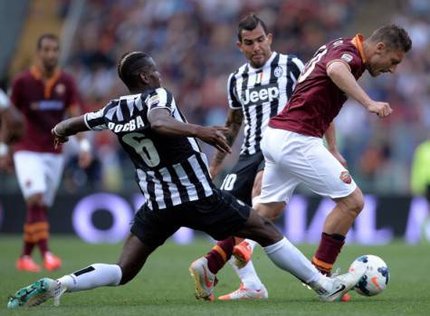 Roma-Juventus dello scorso anno (getty images)