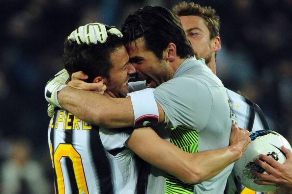 Gigi Buffon e Alex Del Piero (getty images)