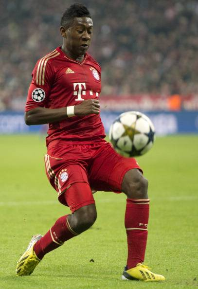 David Alaba a segno con l'Austria - Getty Images