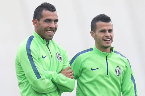 Giovinco e Tevez (getty images)